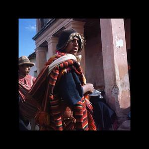Tarabuco, Bolivia - Friday Market 1967