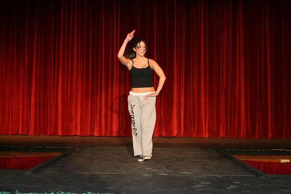 2006 fashion show: rehearsal