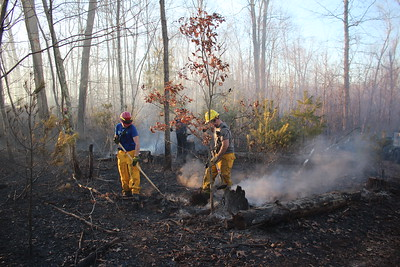 Large brush fire - River Rd Southbury, CT - 3/12/2021