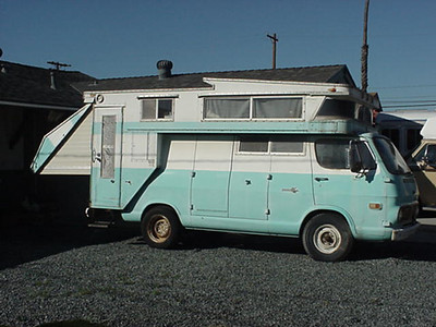 "Pahlwest's Chevy McNamee ""Kamp King"" Van-A-Home"