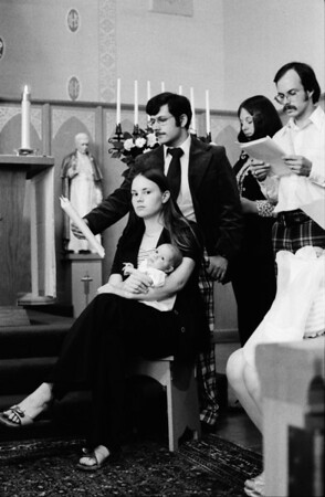 David Scoglio's Baptism 1976