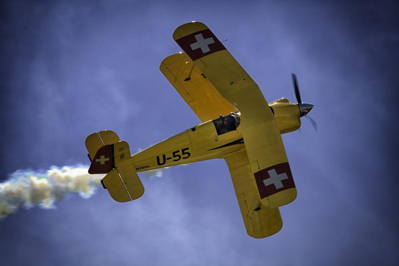 Yellow Swiss Plane