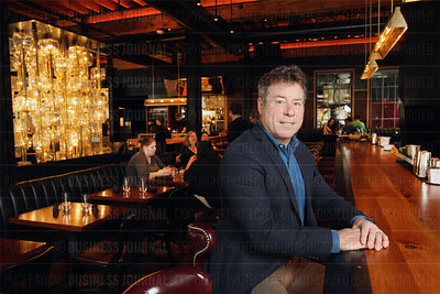 Kurt Dammeier, chief executive officer of Sugar Mountain at the recently opened The Butcher's Table restaurant in Seattle, Wash.