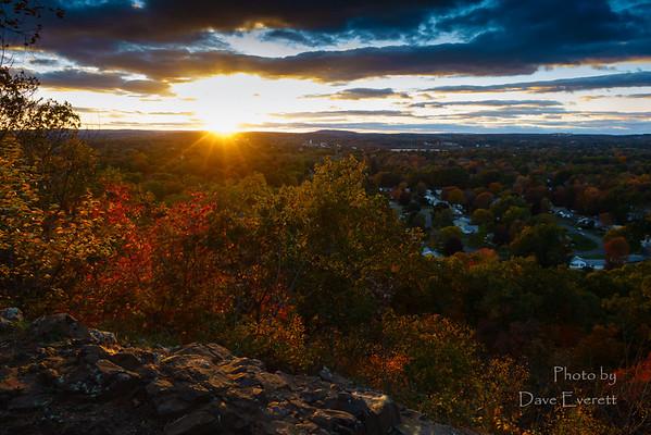 Cedar Mountain Sunset - Oct 2014