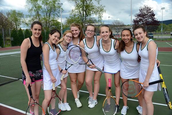 2016 BBA Girls JV Tennis vs MAU photos by Gary Baker