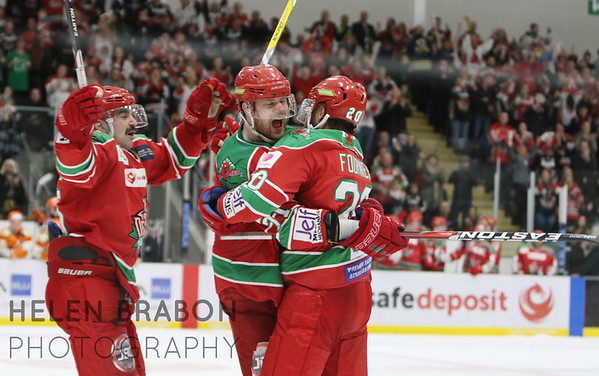 Cardiff Devils vs Sheffield Steelers 27-11-16