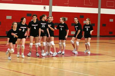 Girls Volleyball 7B - 3/17/2010 Grant