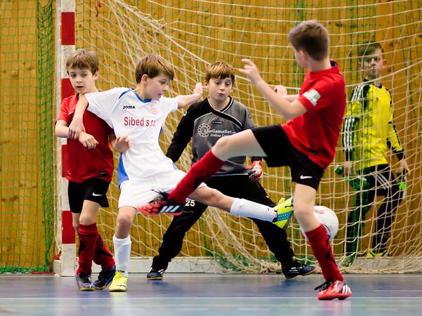 Semifinále: Kosmonosy - Hrádek 3:3, penalty 2:3