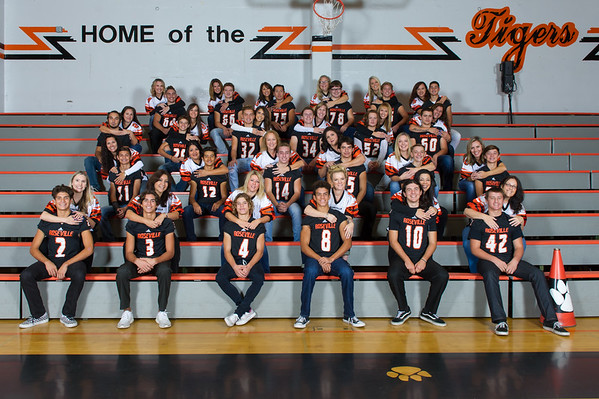 2017 JV Football Moms and Sons