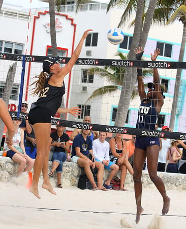 FSU vs FIU at South Beach (03/31/2018)