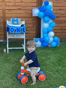 James' First Birthday Party
