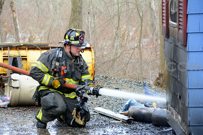 North Reading, MA Working Fire - 3 Hanson Rd - 3/23/14