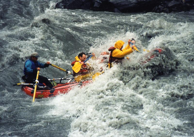 White water rafting in Valdez