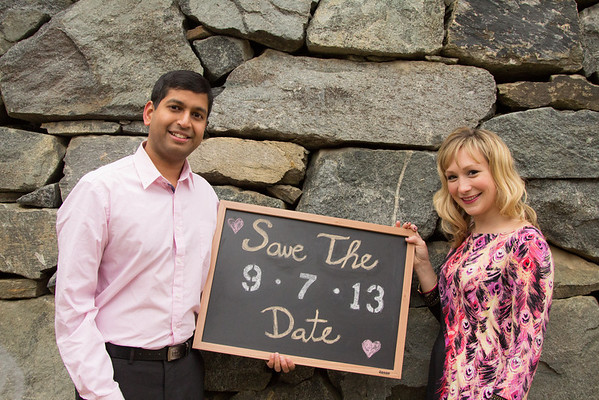 Katie and Atiq - Save-the-Date