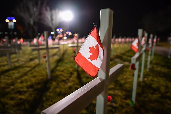 11-5-16 Field Of Crosses - Calgary Ab.