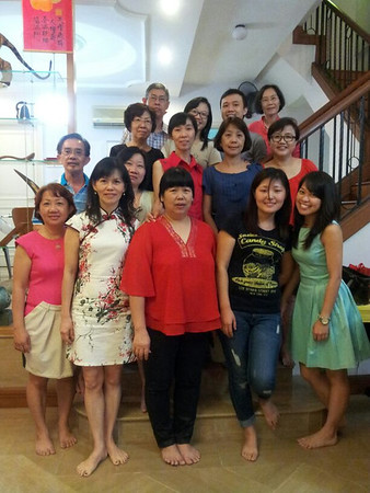 CNY Visitation to Mrs Chua's Home (3 Feb 2014)