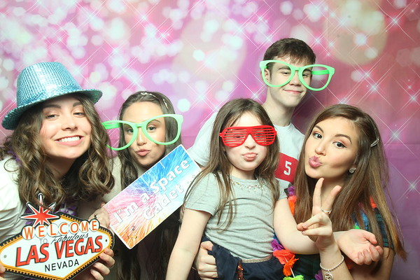 Photo Booth Hire - Amelia's 13th Birthday