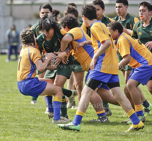 jm20120825 Rugby - U14 Final - Rongotai v Mana _MG_0272 b WM