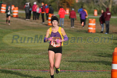 2 Miles, D4 GIRLS - 2017 MHSAA LP XC FINALS