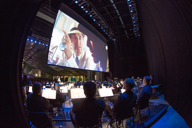 2016 Festival of the Arts BOCA presents Raiders of the Lost Ark Film with Henry Mancini Institute Orchestra from the University of Miami Frost School of Music Constantine Kitsopoulos, conductor
