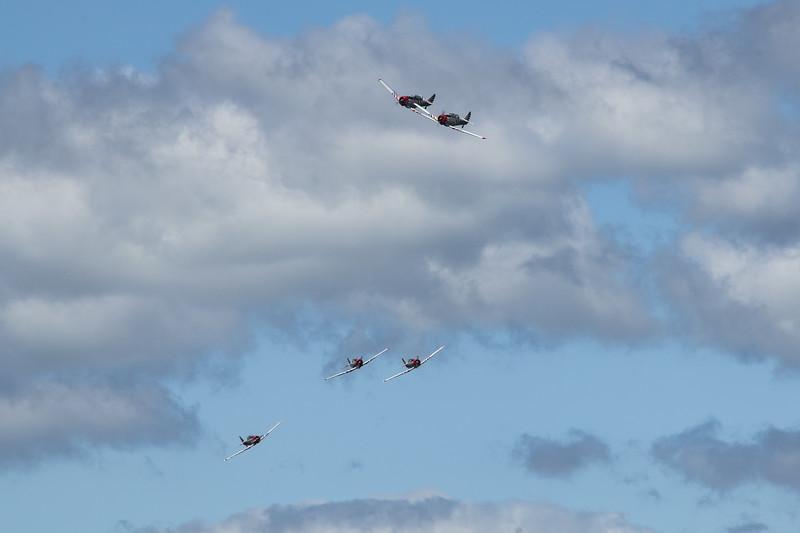 Geico Skytypers - SNJ (T-6 Texan)