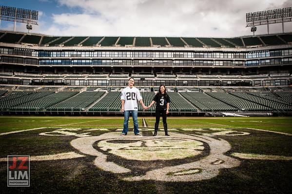 Justin and Susan @Raiders