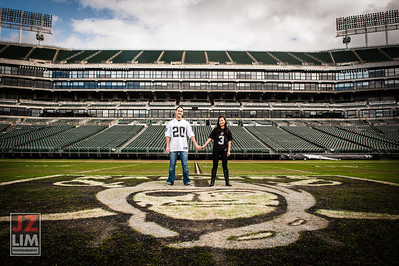 Justin and Susan @Raiders