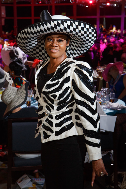 . Essie Porter.  Women with Hattitude luncheon, benefiting the Women\'s Voices Fund, created by the Denver Center Theatre Company, at the Denver Center for Performing Arts, Seawell Ballroom, in Denver, Colorado, on Thursday, May 5, 2016. Photo Steve Peterson