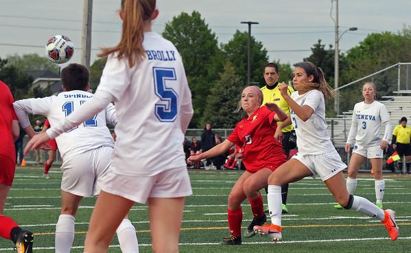 Batavia vs Geneva girls soccer