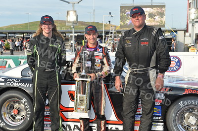 "ARCA Midwest Tour ""Illinois Lottery Super Late Model Showdown"" Victory Lane"
