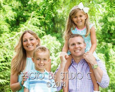 Lara and Jared Hamilton Family 2017