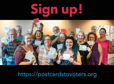 Postcards to Voters - Medford Library