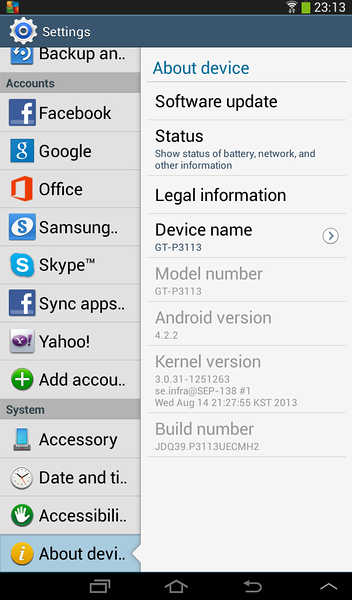 "Samsung Galaxy Tab 2 7"" Unbox 2013"