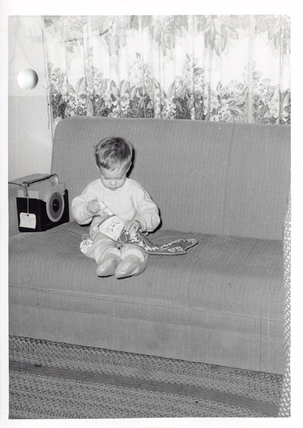 David, Christmas 1955
