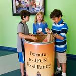 FOOD DONATIONS AT RONDALD  WORNICK JEWISH DAY SCHOOL