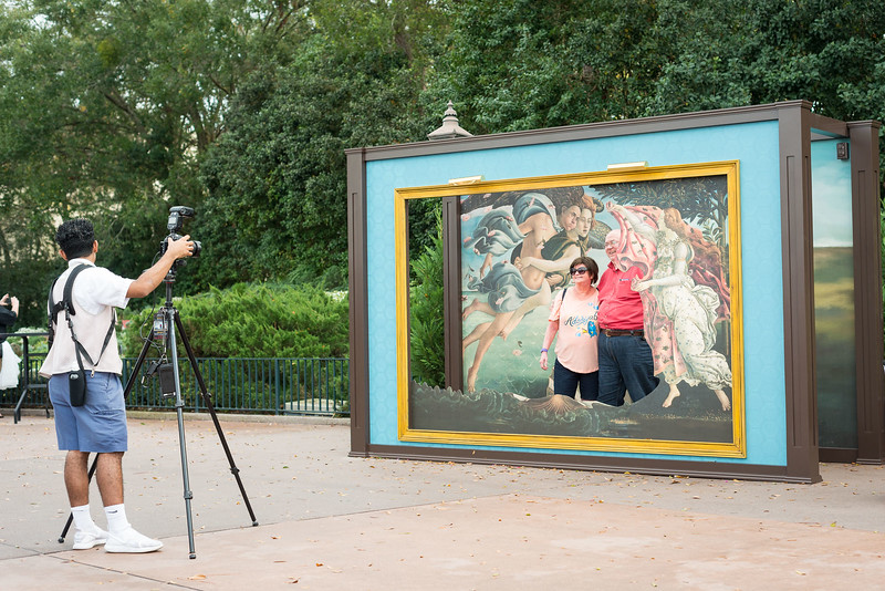Epcot International Festival of the Arts - Photo Opportunity - Magic Kingdom Walt Disney World