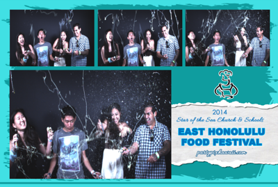 East Honolulu Food Festival (Slow Motion Photo Booth)