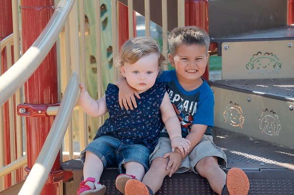 Andrew 4yrs & Reagan 16months