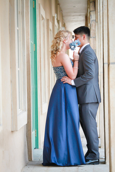 BRITTANY + NICK PROM 2014