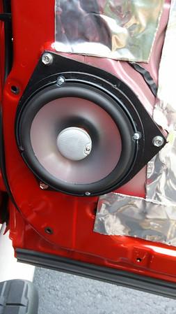 2014 Toyota Tundra Double Cab (non JBL) Rear Door Speaker Installation - USA