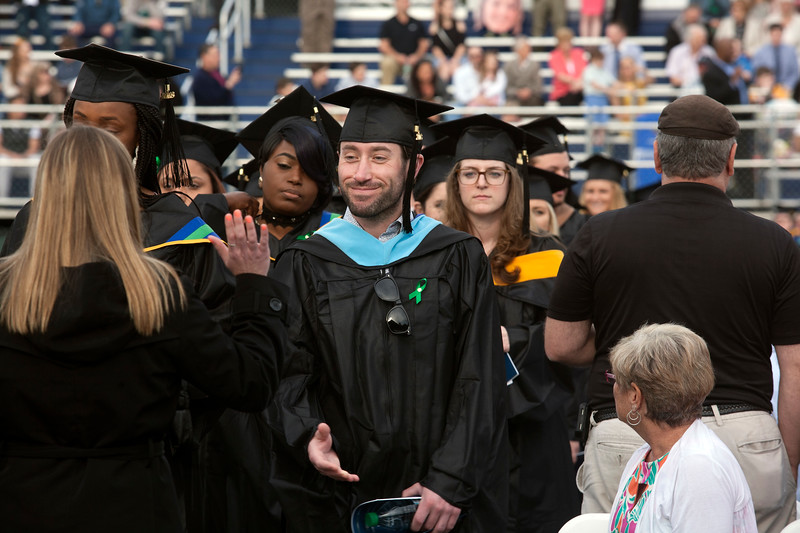 Photo by Amy Sweeney The Seventy-Eighth Commencement Van Loan School at Endicott College held at Hemsptead Stadium