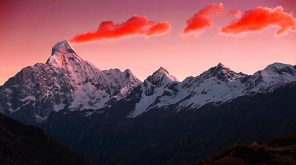 China,  Ngawa--Tibet(Aba), Four Sister Mountain National Park,  四姑娘山,阿坝, 四川