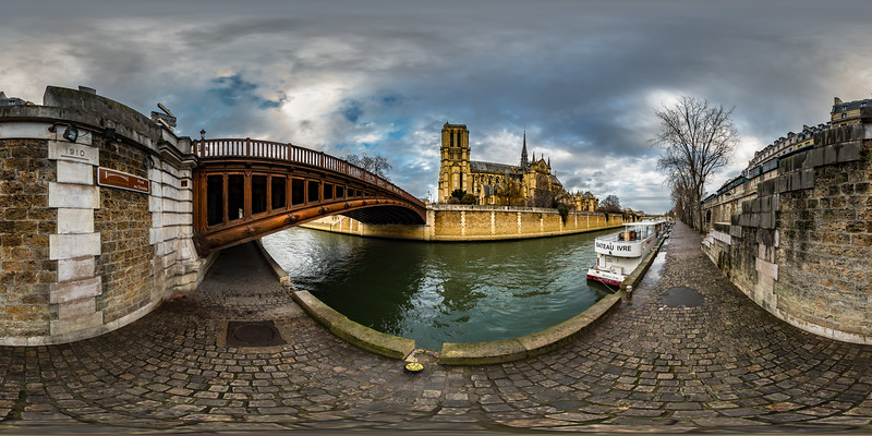 Notre Dame Cathedral - Pont au Double
