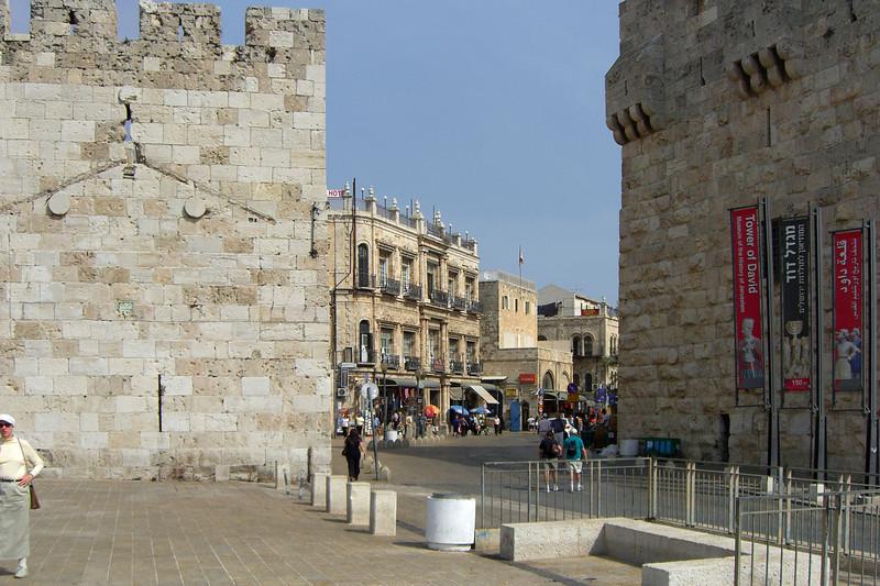 53-Hotel New East Imperial on Omar Ben el-Hatab Street just inside Jaffa Gate