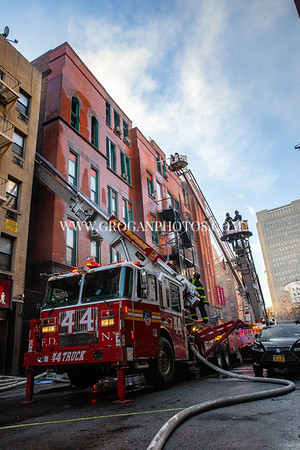 Manhattan 5th Alarm Box 0162 70 Mulberry St 1/23/20