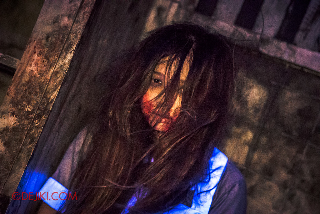 Halloween Horror Nights 6 Final Weekend - Old Changi Hospital revisited / Nurse