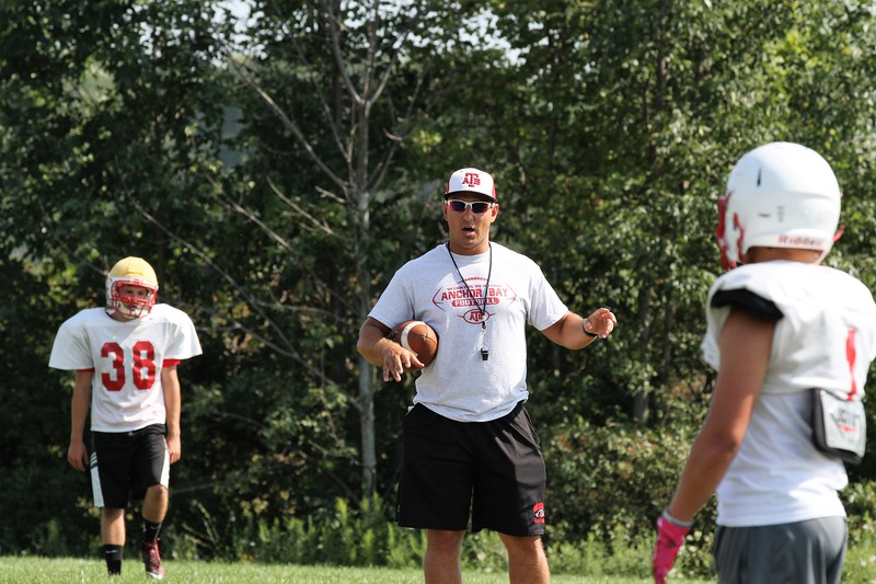 Anchor Bay practice on Thursday, August 10, 2017. (MIPrepZone photo gallery by George Spiteri)