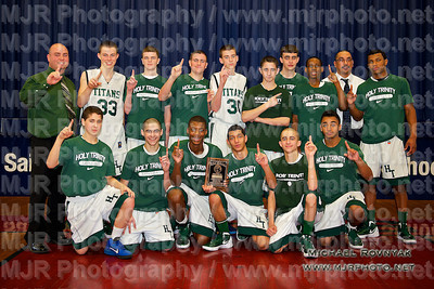 Holy Trinity VS St Anthonys, Boys Freshman Basketball 02.19.12