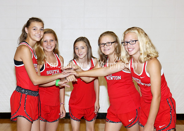 SNMS Cross Country Team 2017