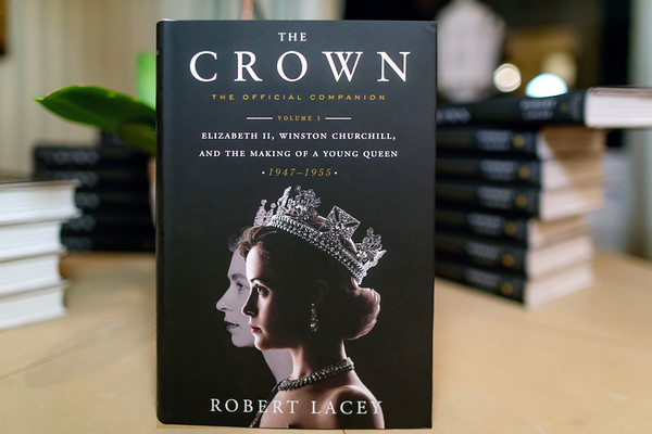 "Nov. 16, 2017 Robert Lacey Book Party for ""The Crown"""
